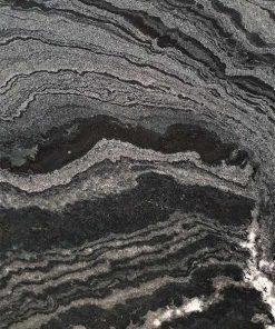 đá marble đen vân mây