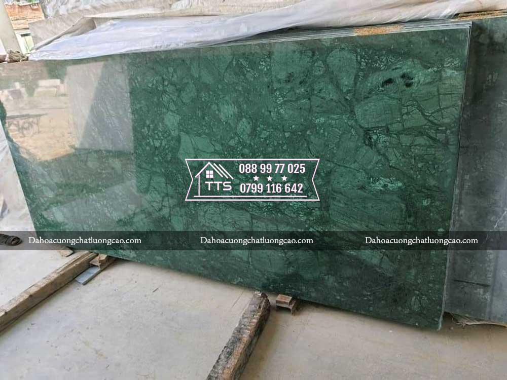 đá marble xanh napoli trong kho